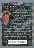 1993-94 Donruss Elite Series Inserts #5 - Brett Hull (back)