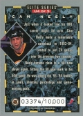 1993-94 Donruss Elite Series Inserts #U4 - Cam Neely (back)