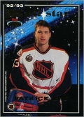 1993-94 Stadium Club All-Stars - Ed Belfour / Patrick Roy