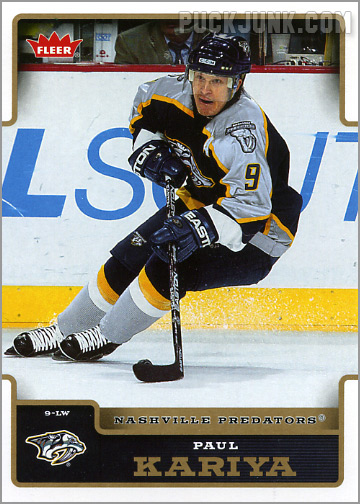 2006-07 Fleer #109 - Paul Kariya