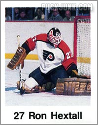 1988-89 Frito Lay Stickers - Ron Hextall