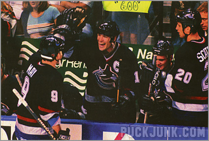 1998-99 Panini Photocards - Mark Messier