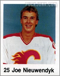 1988-89 Frito Lay Stickers - Joe Nieuwendyk