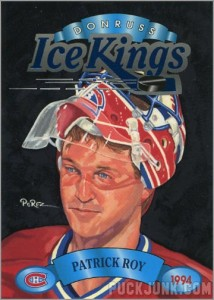 1993-94 Donruss Ice Kings Patrick Roy