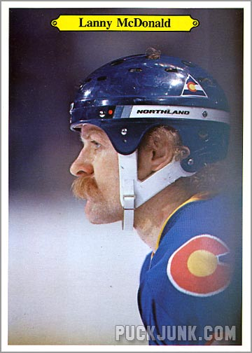 1980-81 OPC Super Photos #5 - Lanny McDonald