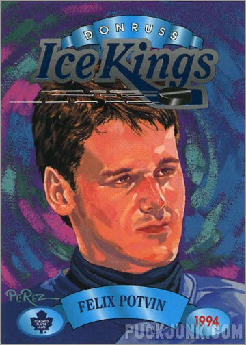 1993-94 Donruss Ice Kings Felix Potvin
