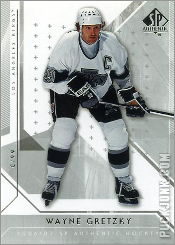 2006-07 SP Authentic #55 - Wayne Gretzky