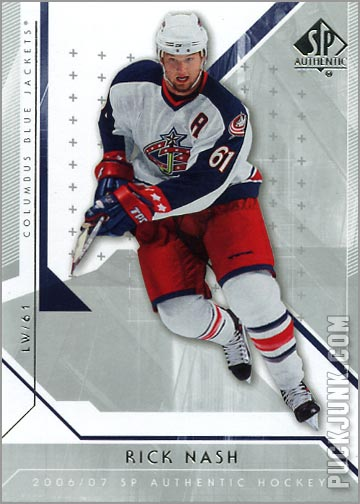 2006-07 SP Authentic #72 - Rick Nash
