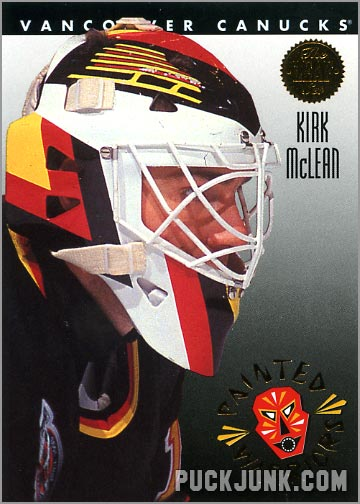 1992-93 Leaf Painted Warriors Kirk McLean