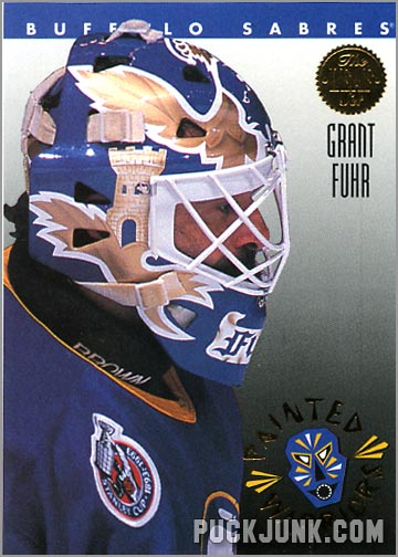 1992-93 Leaf Painted Warriors Grant Fuhr