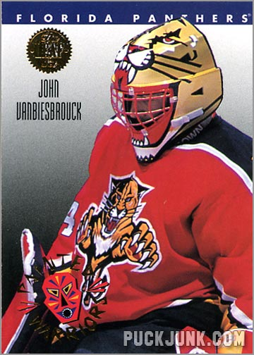 1992-93 Leaf Painted Warriors John Vanbeisbrouck