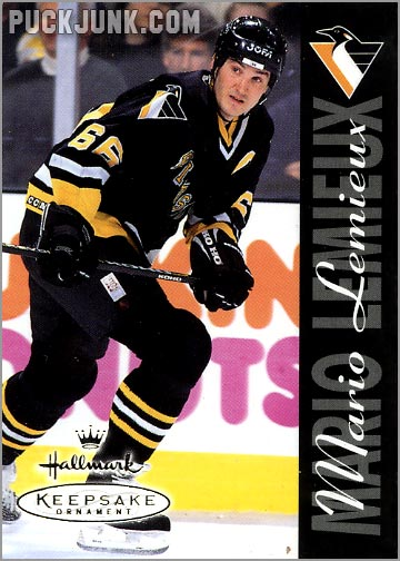 1998 Mario Lemieux Ornament - trading card front