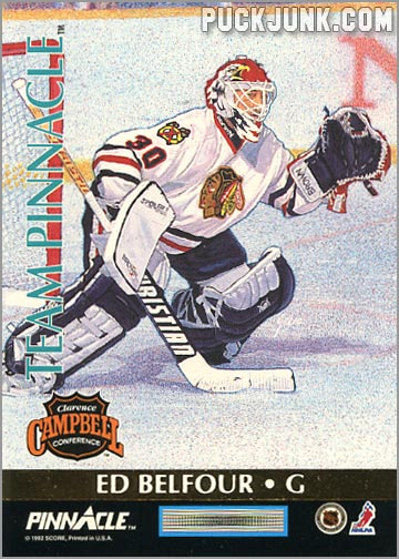 1992-93 Team Pinnacle Ed Belfour