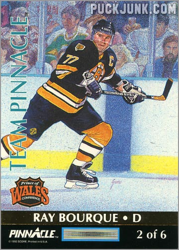 1992-93 Team Pinnacle Ray Bourque