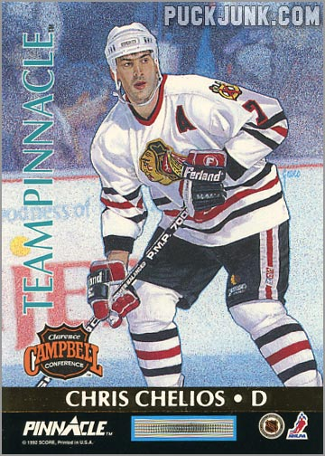 1992-93 Team Pinnacle Chris Chelios