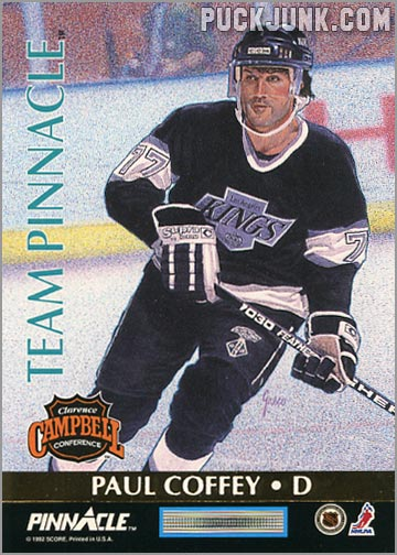 1992-93 Team Pinnacle Paul Coffey