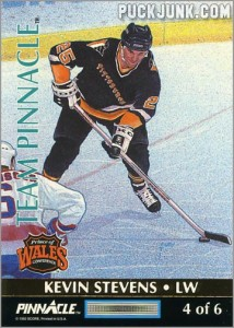 1992-93 Team Pinnacle Kevin Stevens