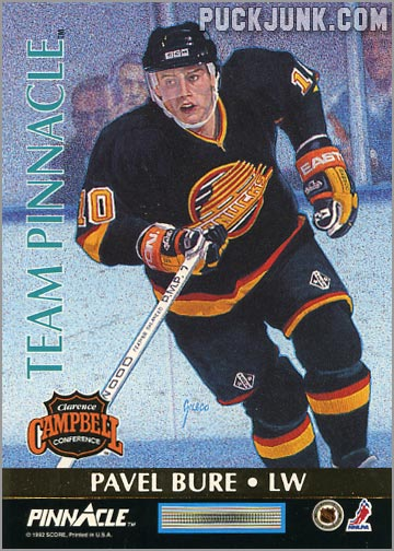 1992-93 Team Pinnacle Pavel Bure