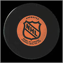 Toronto Maple Leafs Viceroy Puck - back