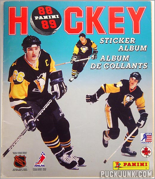 Review: 1988-89 Panini Hockey Stickers