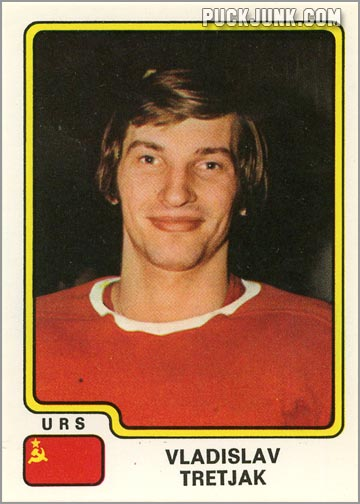 Vladislav Tretiak Panini Hockey Sticker