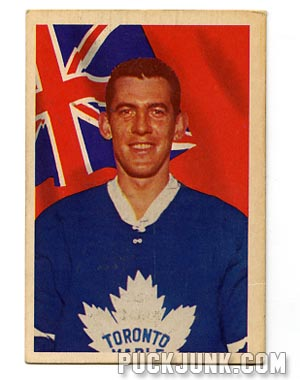 1963-64 Parkhurst Don Simmons