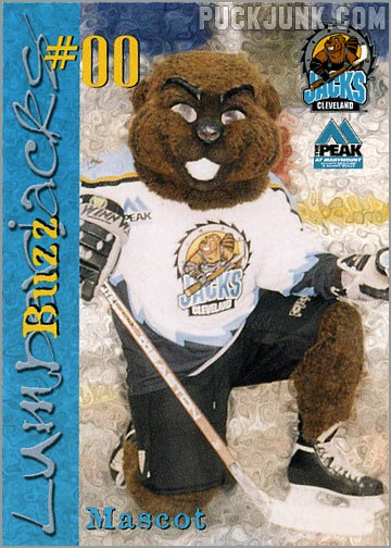 1999-00 Cleveland Lumberjacks - Buzz the Mascot