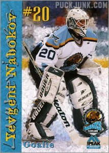 Review: 1999-00 Cleveland Lumberjacks team set