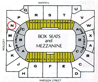 Chicago Stadium Seating Chart