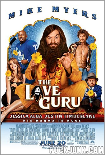 The Love Guru movie poster