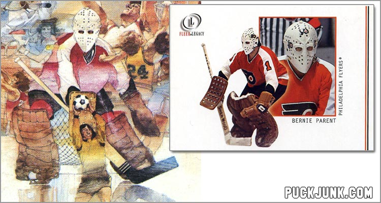 Video Olympics & Bernie Parent