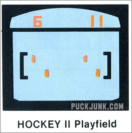 Video Olympics Hockey 2 playfield
