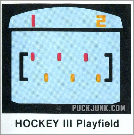 Video Olympics Hockey 3 playfield