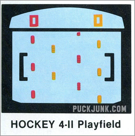 sVideo Olympics Hockey 4-2 playfield