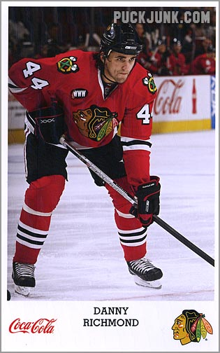 2007-08 Blackhawks Danny Richmond
