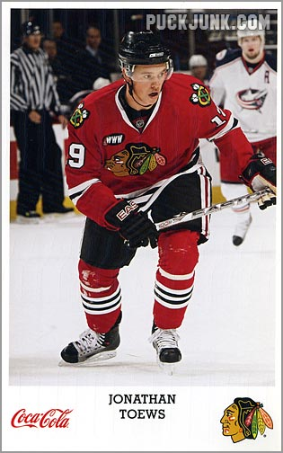 2007-08 Blackhawks Jonathan Toews 1