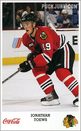 2007-08 Blackhawks Jonathan Toews 2