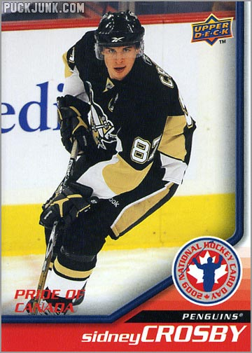 2009 National Hockey Card Day #6 - Sidney Crosby