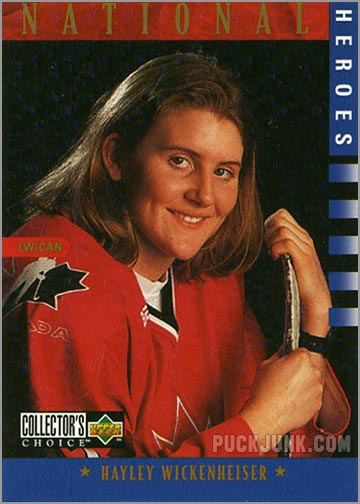 1997-98 Collector's Choice card #279 - Hayley Wickenheiser