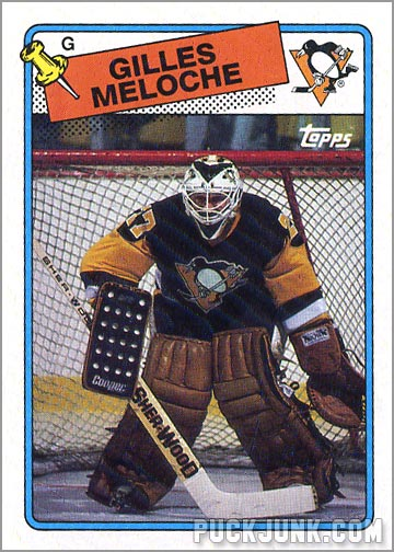 1988-89 Topps #8 - Gilles Meloche