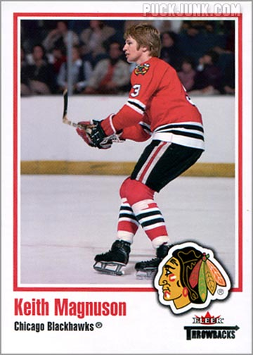 2002-03 Fleer Throwbacks #26 - Keith Magnusson