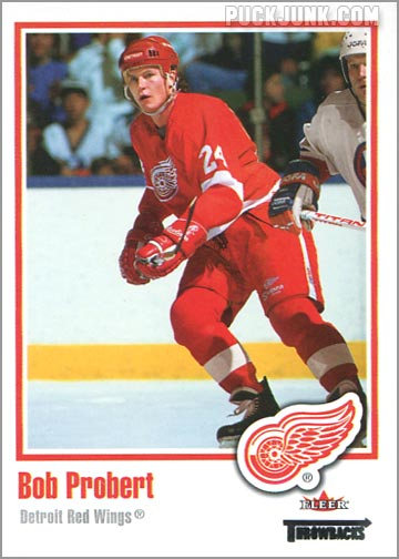 2002-03 Fleer Throwbacks #92 - Bob Probert
