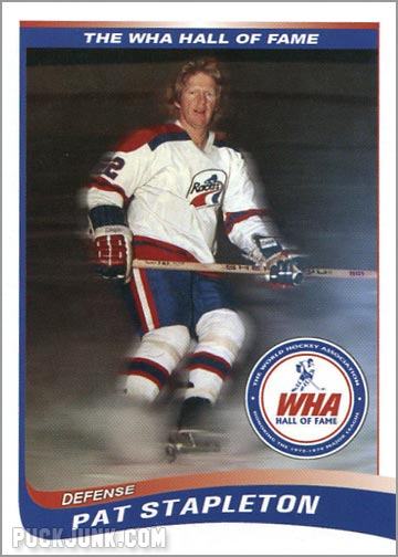 2010 WHA Hall of Fame #2 - Pat Stapleton