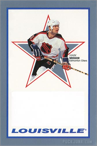 1991-92 Louisville Mark Messier