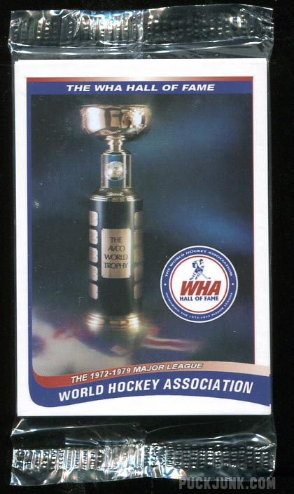 2010 WHA Hall of Fame Card Set