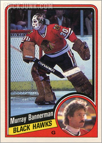 1984-85 OPC #32 - Murray Bannerman
