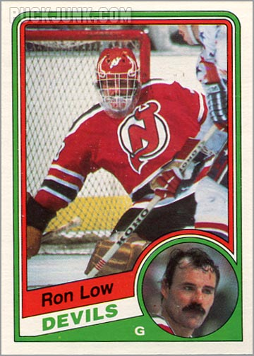 1984-85 OPC #115 - Ron Low