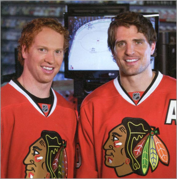 Brian Campbell & Patrick Sharp