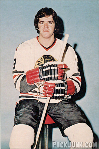1973-74 Chicago Black Hawks Postcards - Dale Tallon