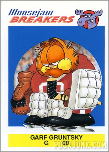 Garfield Hockey Card